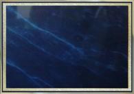 Синий мрамор/ золото